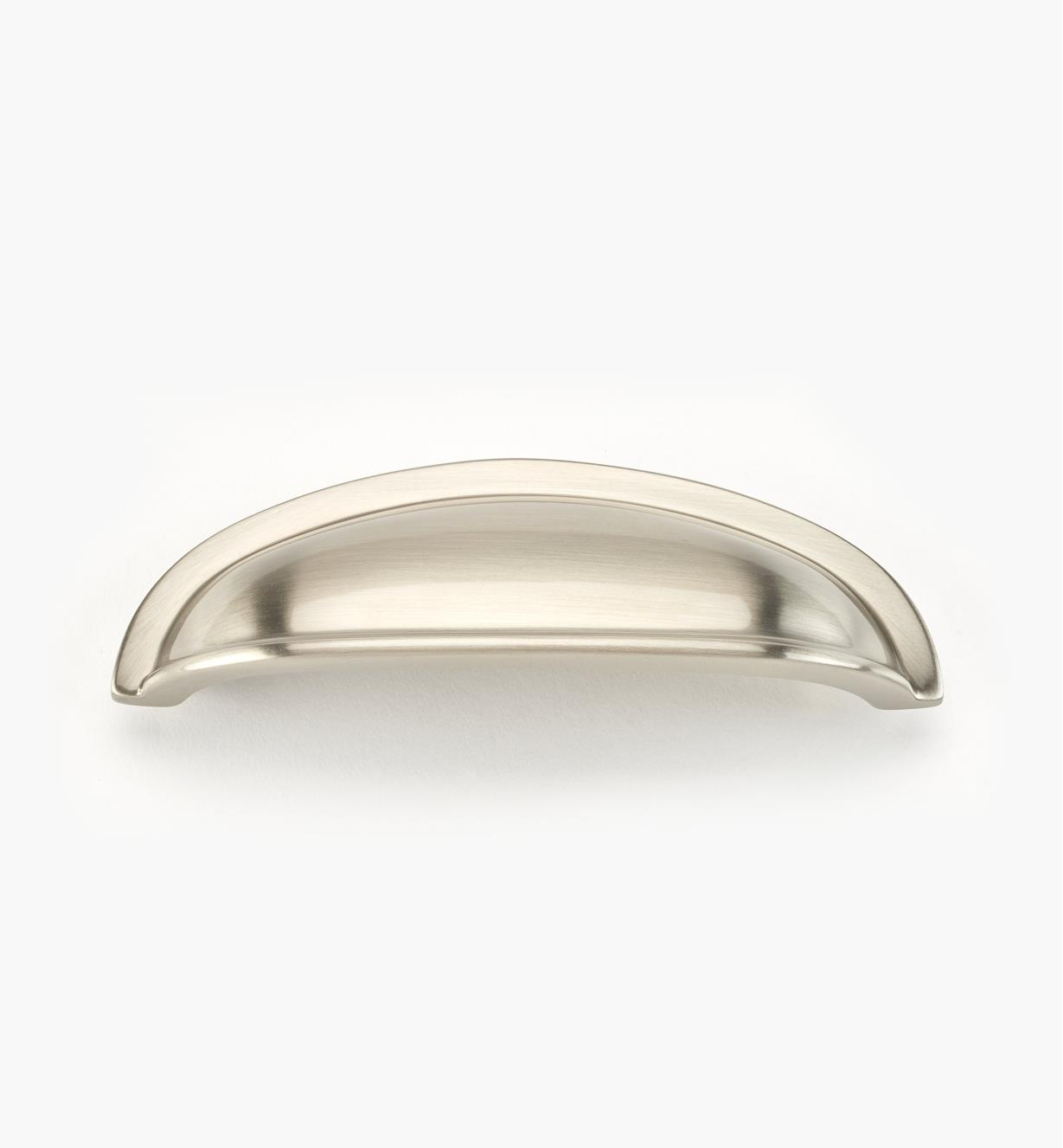 "02W2675 - Satin Nickel Suite - 3"" Cast Brass Shell Pull"