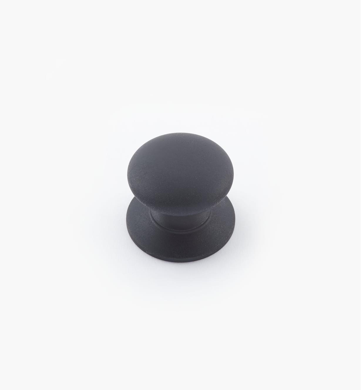 "02W2737 - 3/4"" × 5/8"" Round Brass Knob, Oil-Rubbed Bronze"