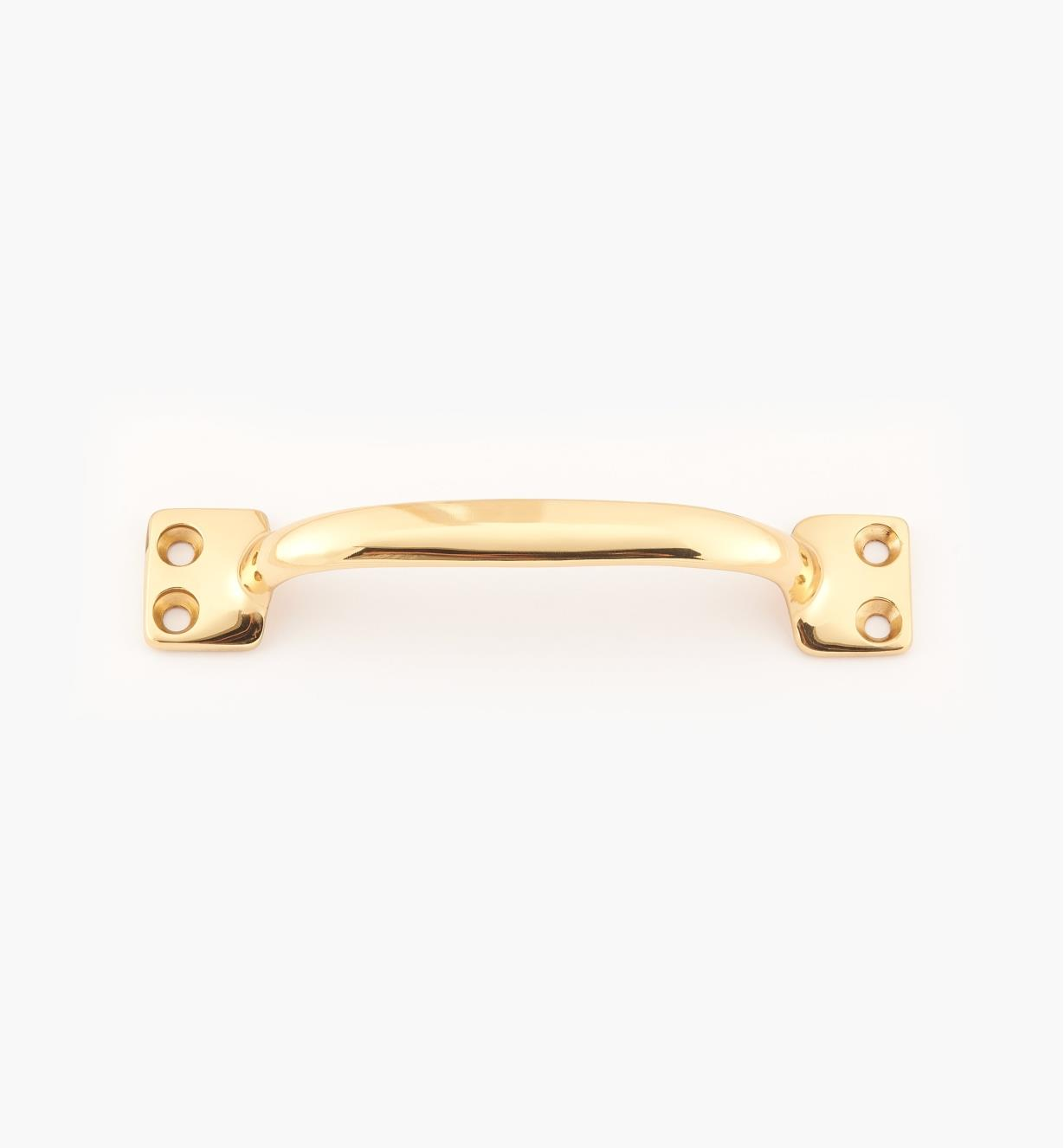 "02W2790 - Polished Brass Suite - 4 5/8"" x 7/8"" Cast Utility Handle"