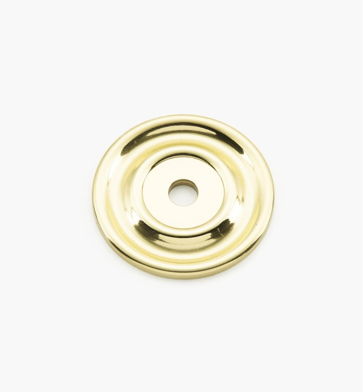 "02W3211 - Polished Brass Suite - 1 5/8"" Knob Escutcheons"