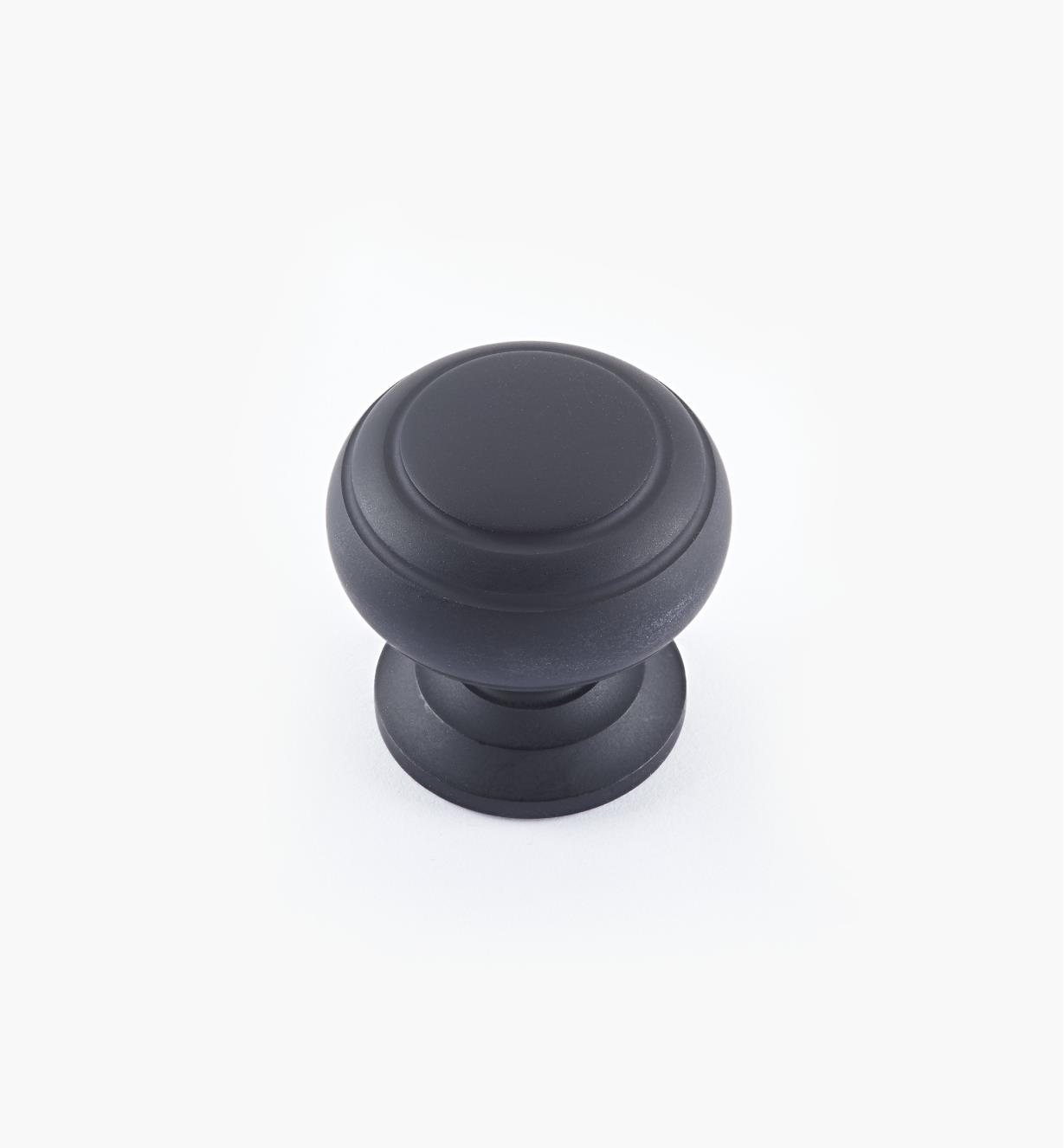"02W3245 - Oil-Rubbed Bronze Suite - 1"" x 1"" Turned Brass Ring Knob"