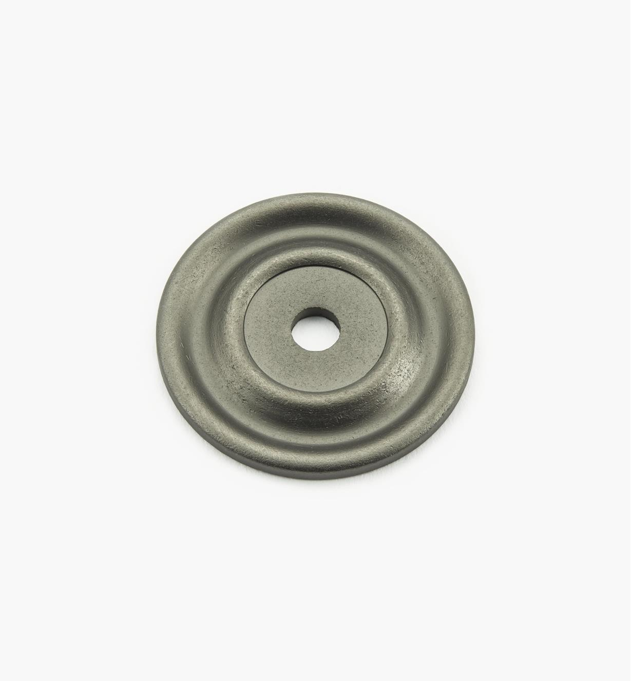 "02W3331 - Pewter Suite - 1 5/8"" Knob Escutcheons"