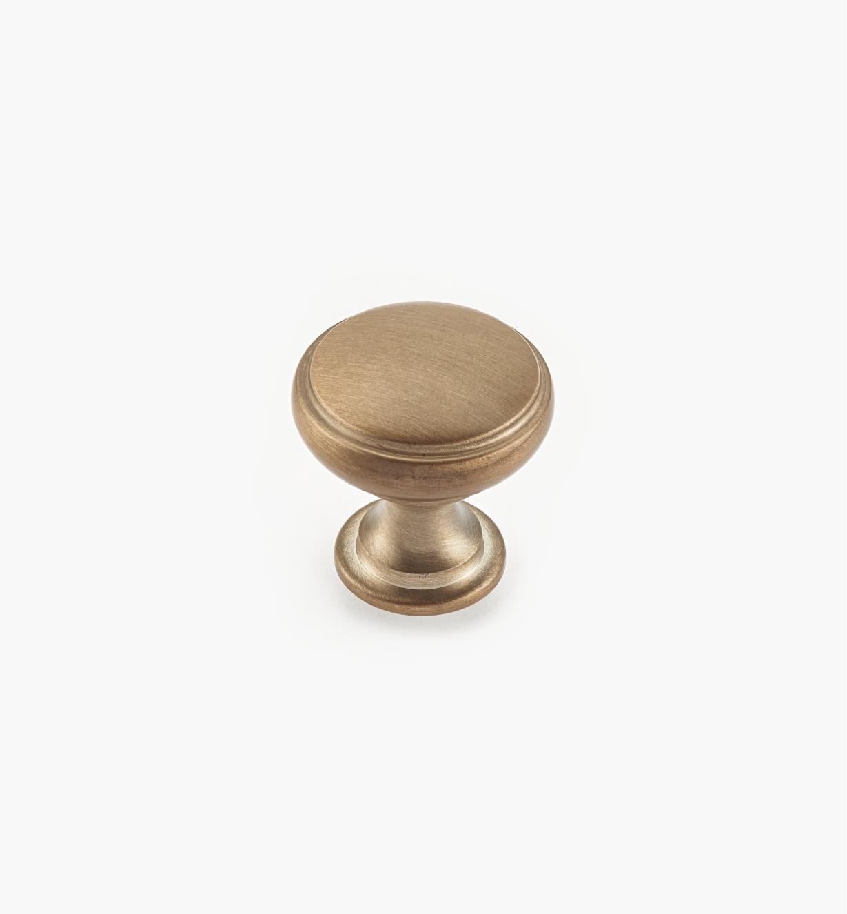 "02W4038 - 1 3/16"" Champagne Gold Knob"