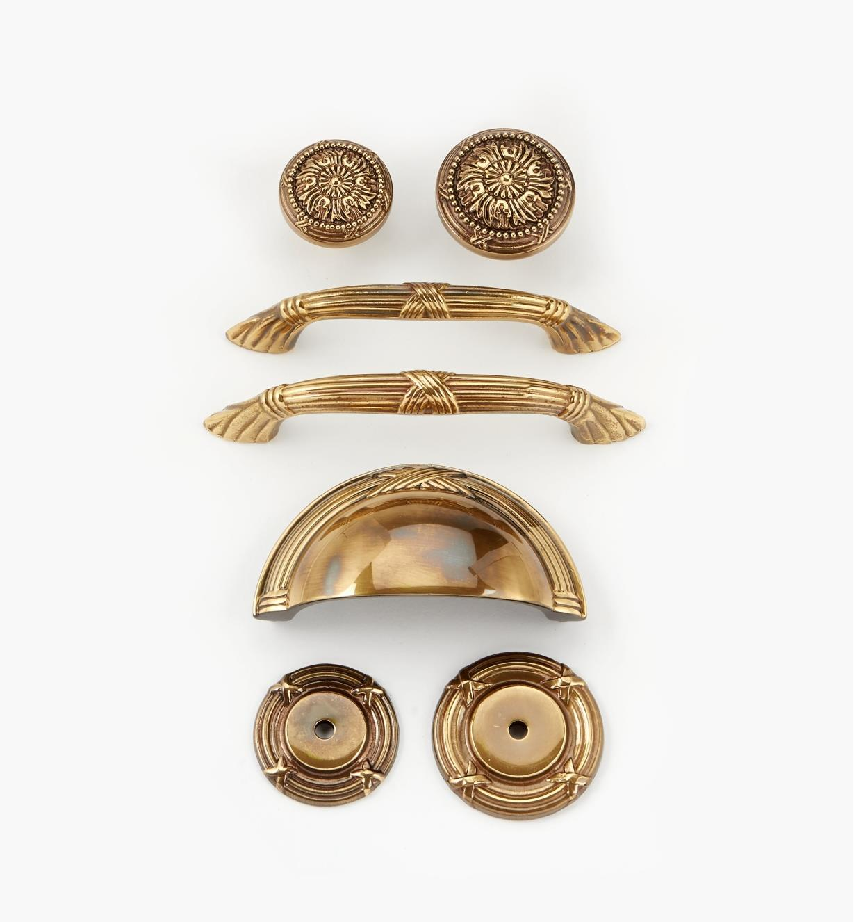 Forged Brass Hardware