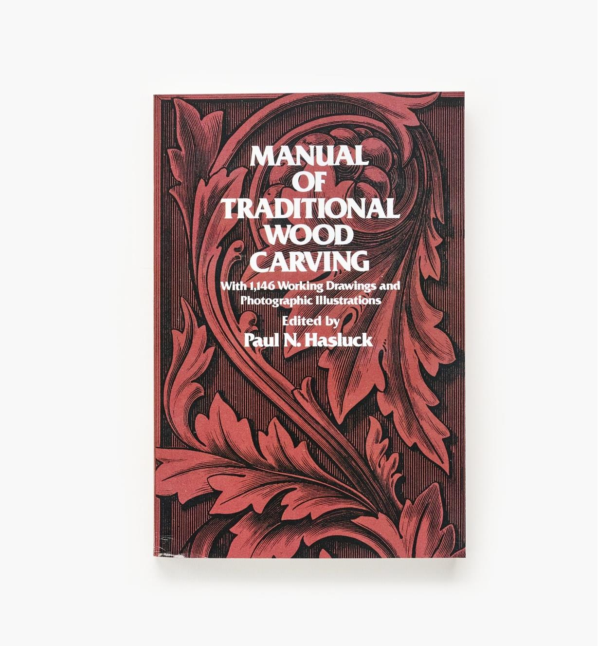 21L0210 - Manual of Traditional Wood Carving
