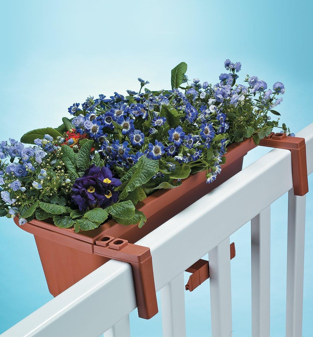 PL616 - Jardinières pour garde-corps et clôture, lapaire