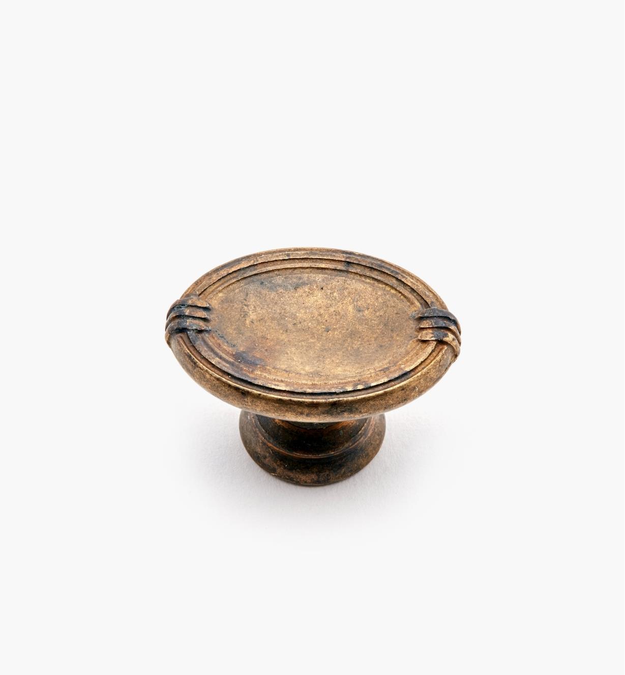 """01A7150 - 1 1/8"""" Oval Knob"""