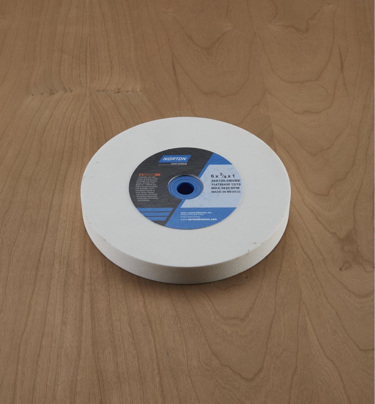08M2101 - Meule de grain120, 6po x 3/4po