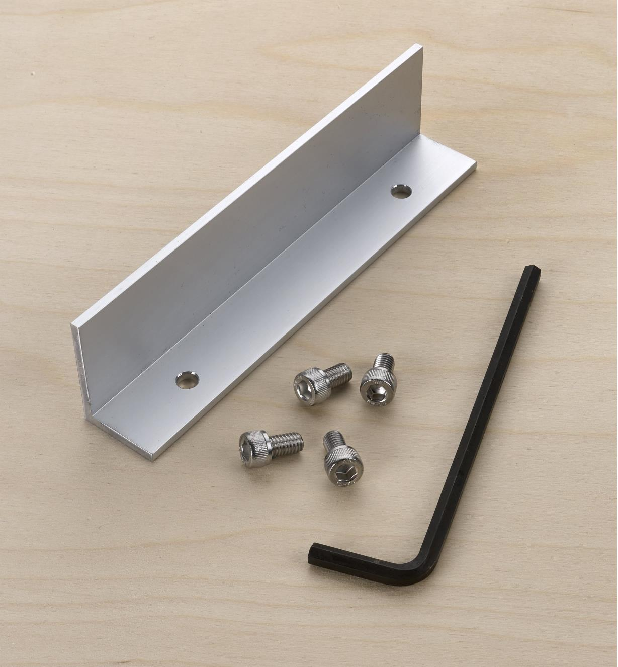 """86N5405 - 6"""" GRS-16 Guide Rail Square Angle Accessory"""