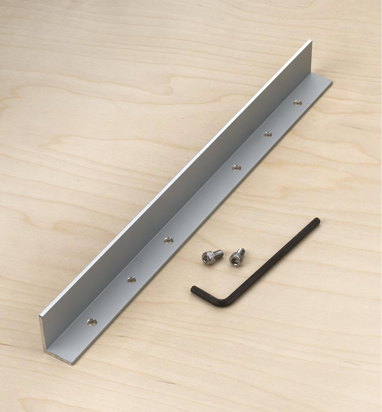 """86N5406 - 15"""" GRS-16 Guide Rail Square Angle Accessory"""