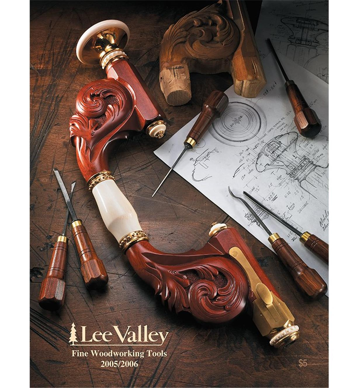 CW0906 - Fine Woodworking Tools 2005-2006, Canada
