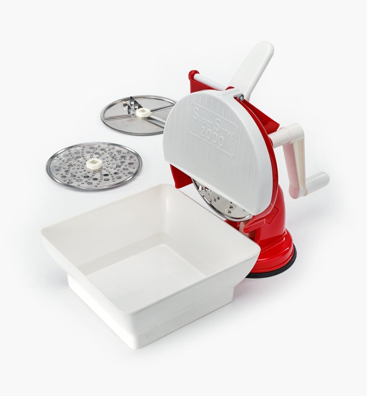 EV542 - Hand-Crank Slicer & Grater