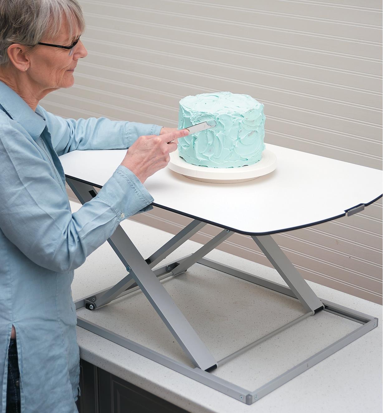 00S8040 - Table de travail à hauteur réglable