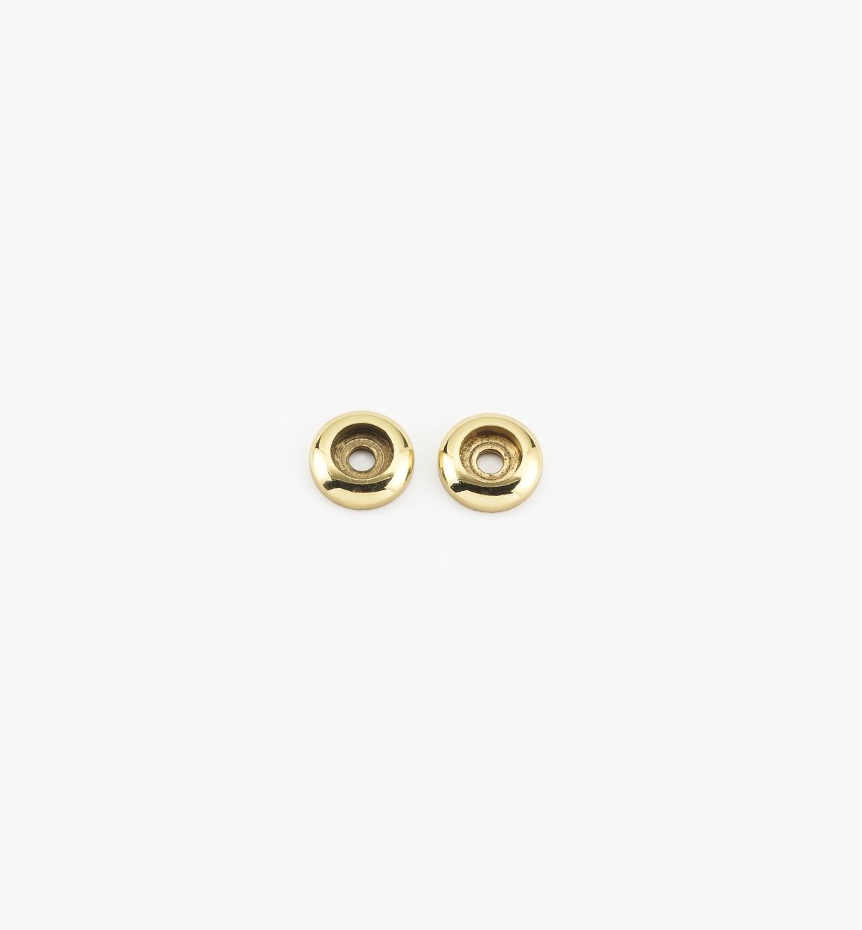 00W7810 - Polished Brass Handle Spacers, pair