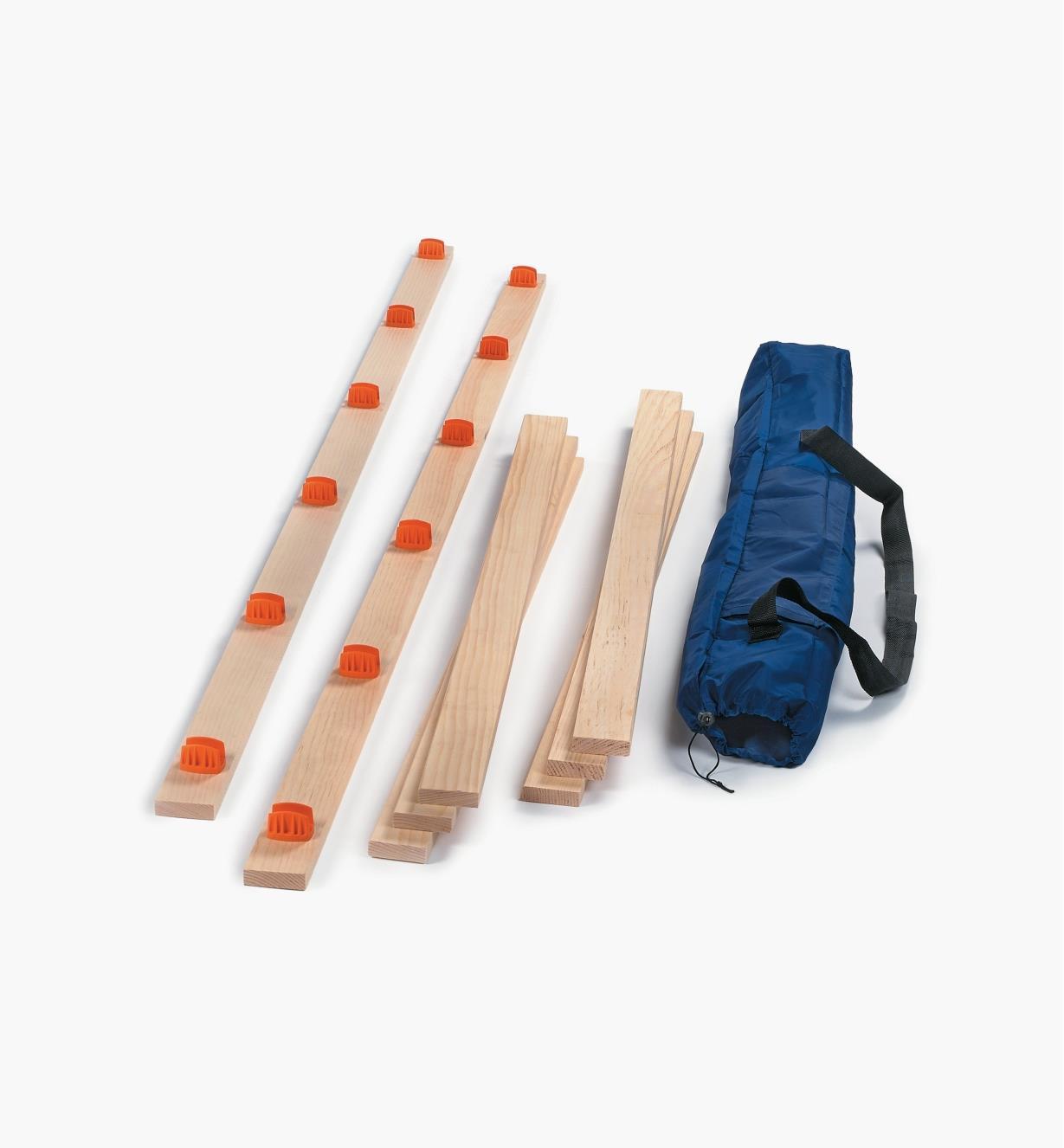 05H4107 - Ensemble d'étriers pour plate-forme Veritas, bois compris