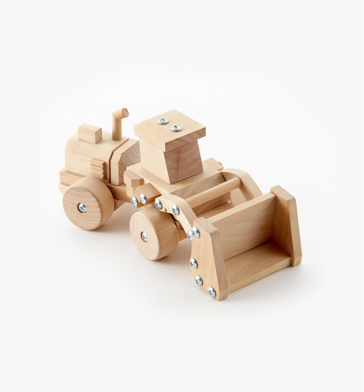 09A0558 - Front-End Loader Easy-To-Build Wooden Toy Kit