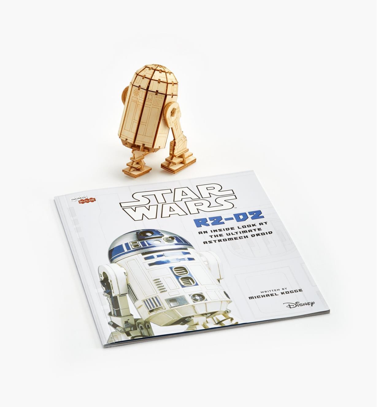 45K5038 - R2-D2 Wooden Model Kit