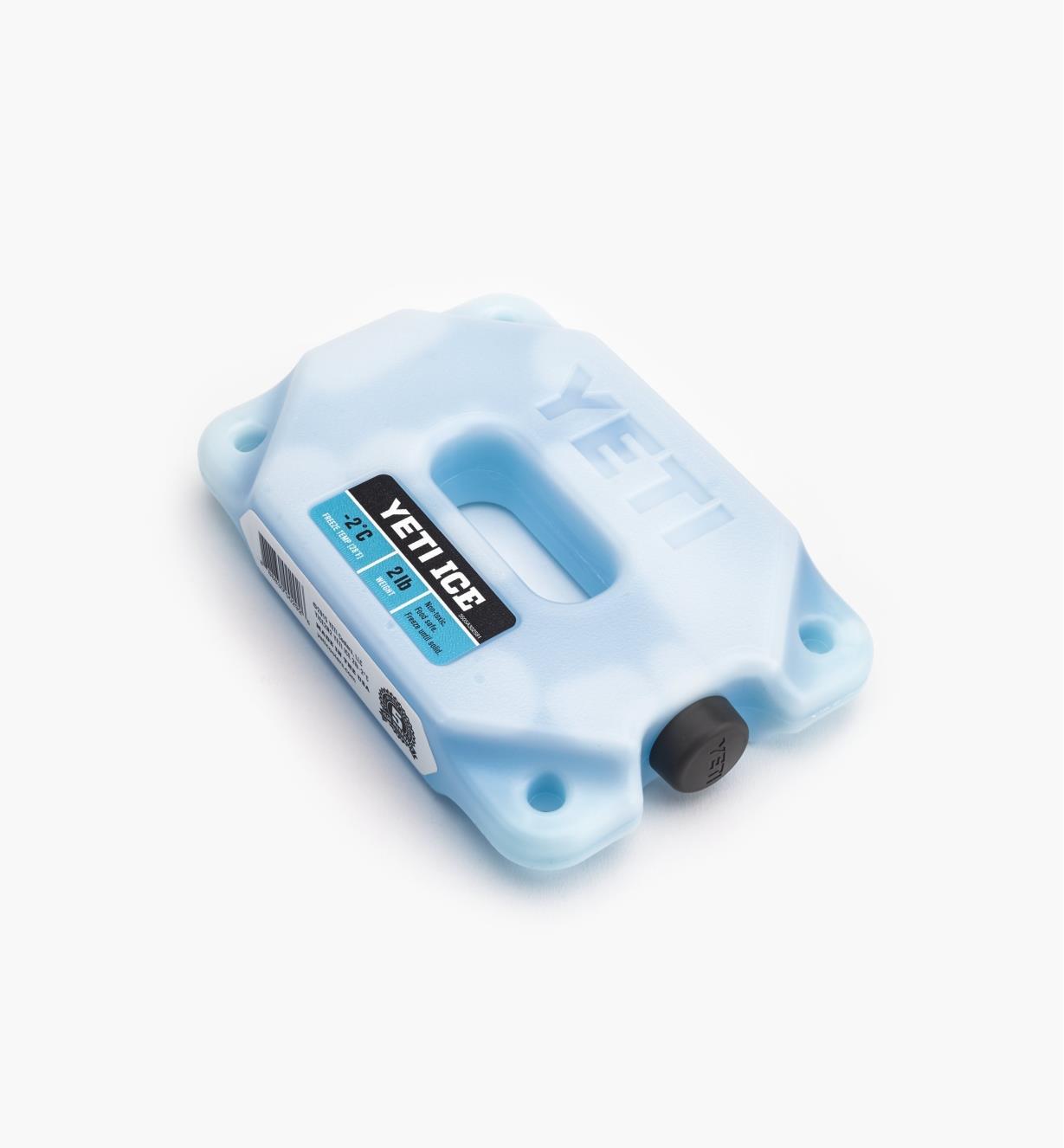 "74K0091 - 2 lb Yeti Ice Pack, 8"" x 5 3/8"" x 1 9/16"""