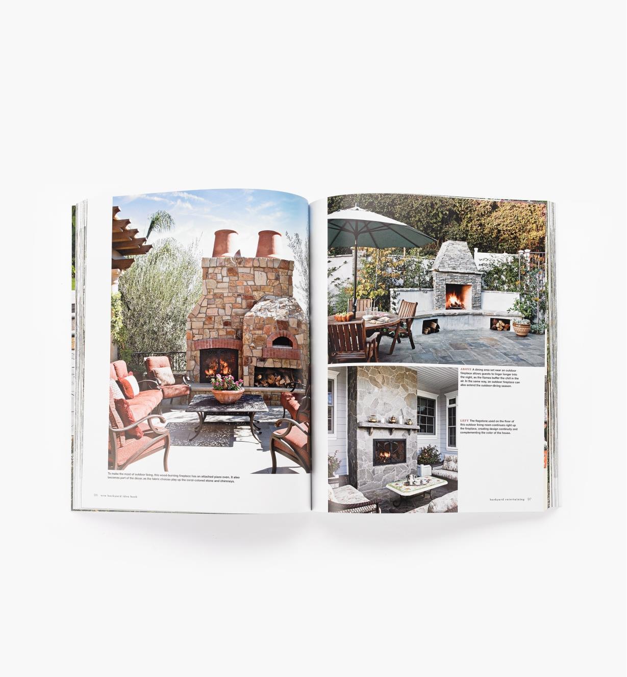 99W8283 - Backyard Idea Book