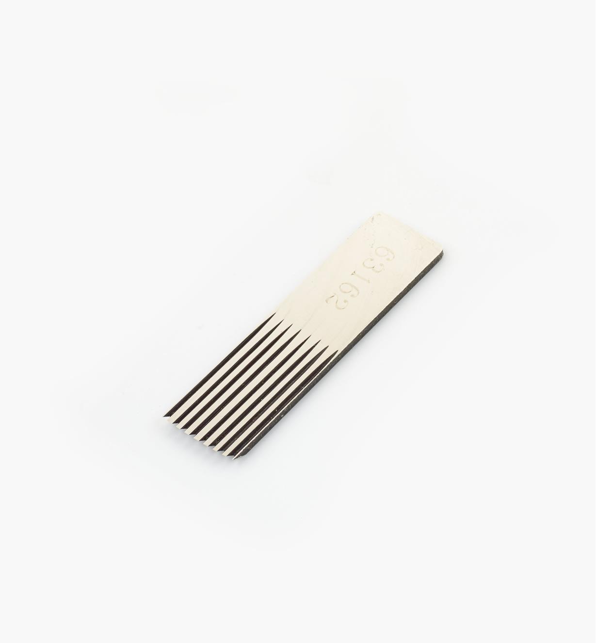 55P1104 - Lame de remplacement dentée, 10mm