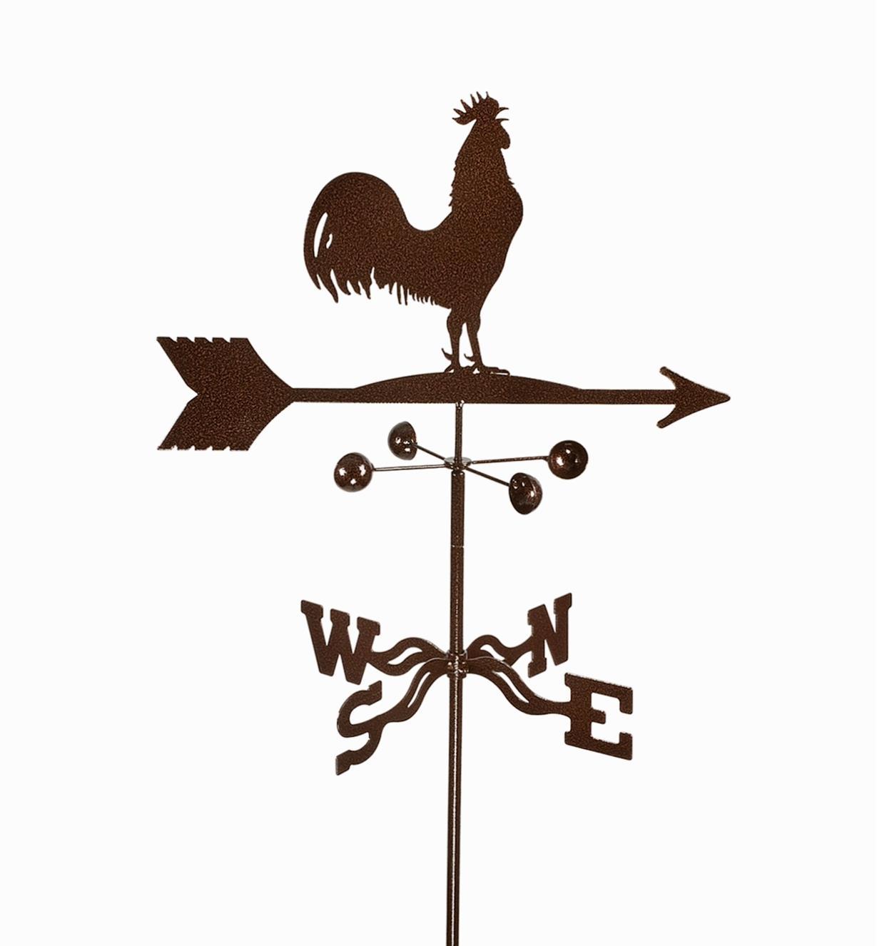 BV520 - Rooster Weathervane, Garden