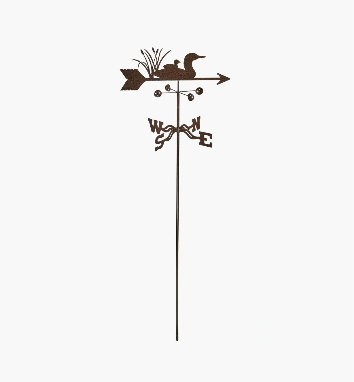 BV523 - Loon Weathervane, Garden