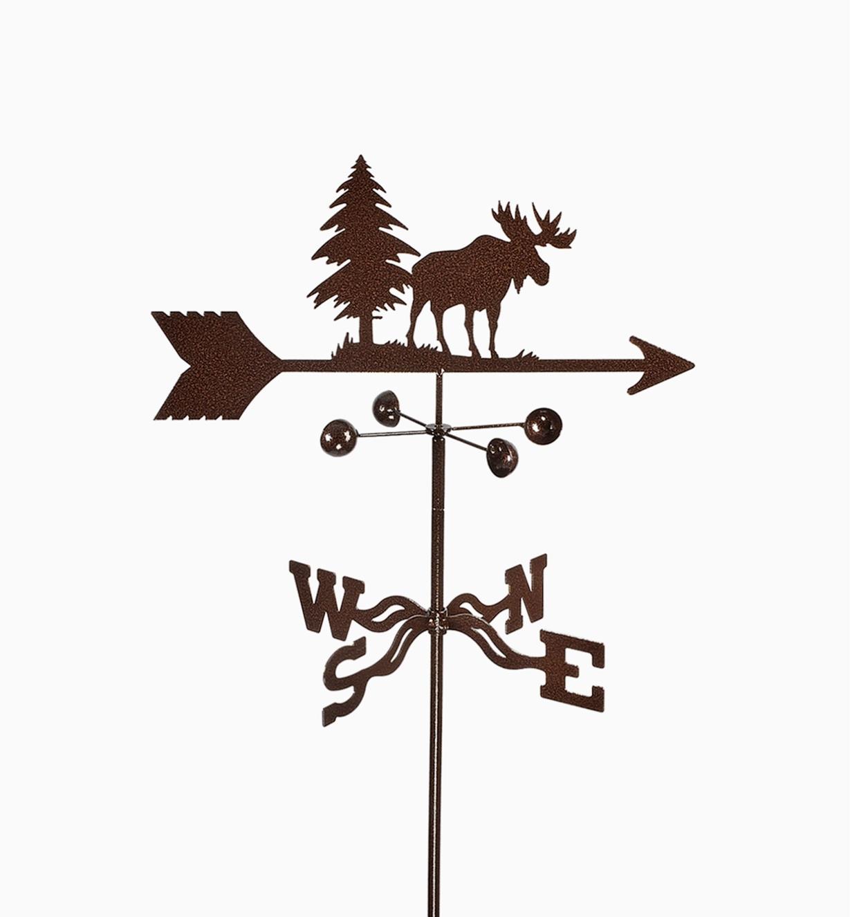 BV524 - Moose Weathervane, Garden