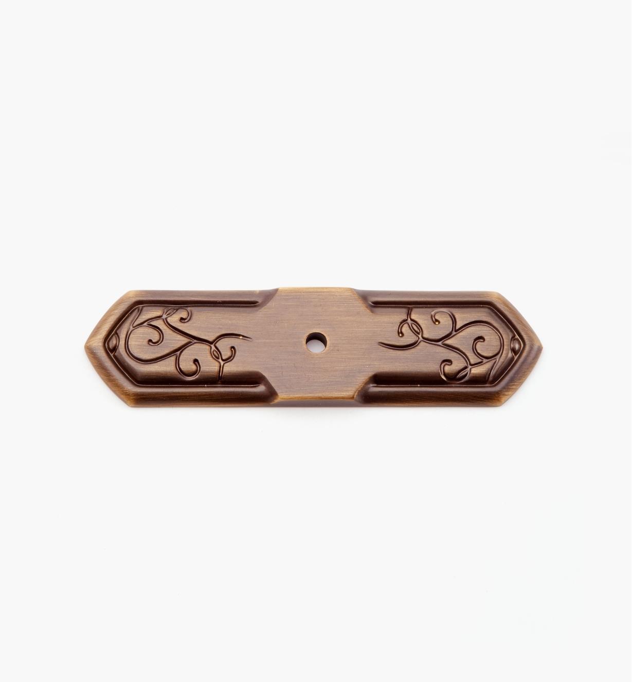 02A5213 - Platine de 1pox 37/8po, série Bella Forma, fini bronze bruni