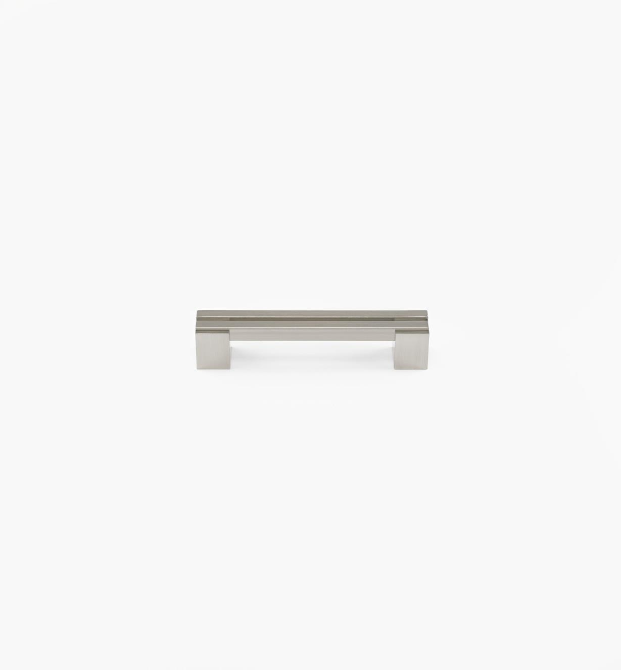 02W1350 - Parallel 128mm Satin Nickel Handle, each