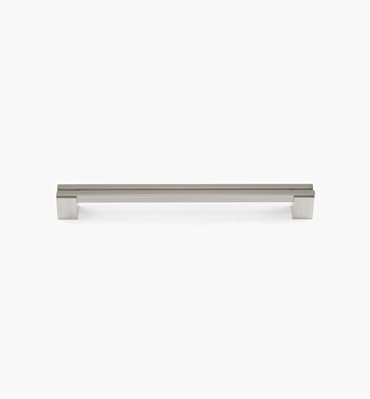 02W1353 - Parallel 256mm Satin Nickel Handle, each