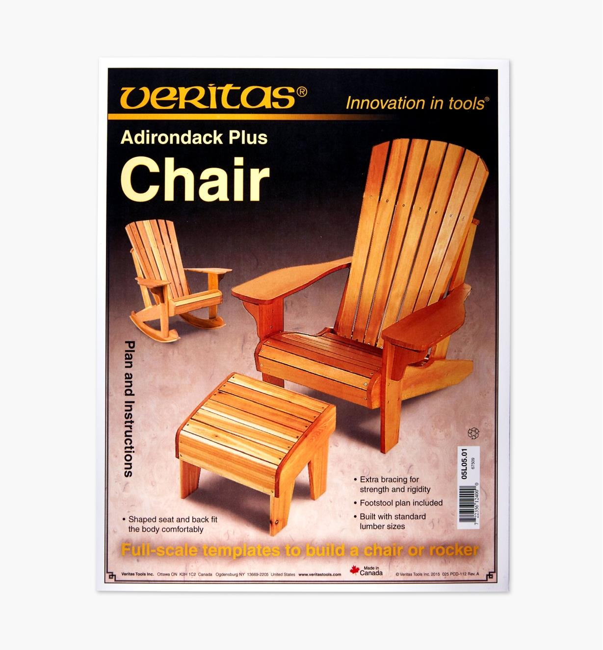 Adirondack Chair With Cooler Plans Free: Adirondack Plus Chair & Footstool Plan