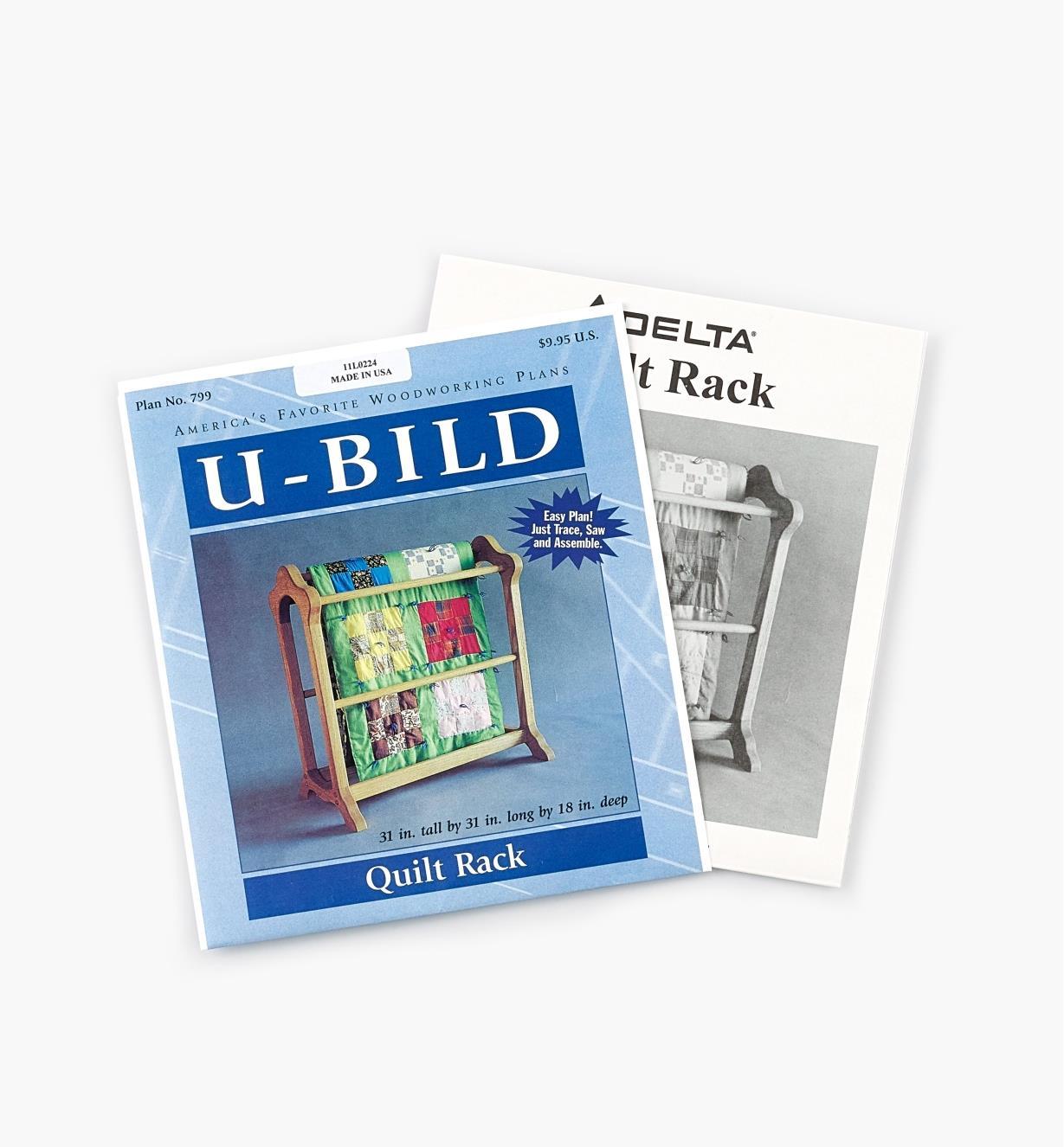 11L0224 - Quilt Rack Plan