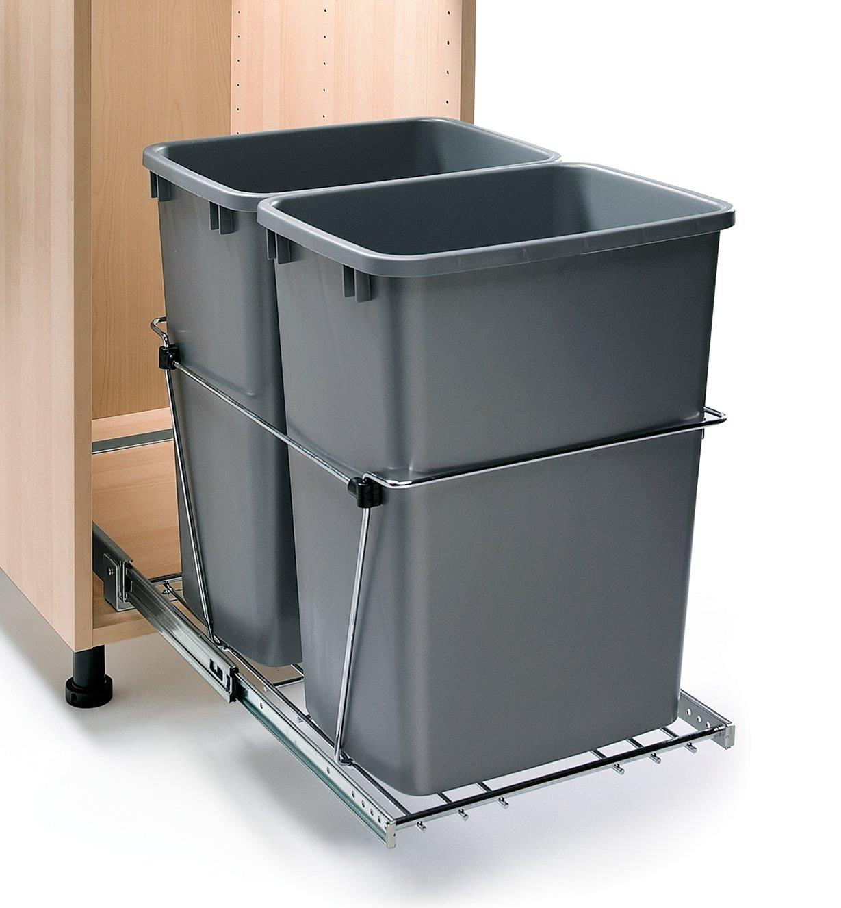 12K7760 - Waste-Container Kit, Double