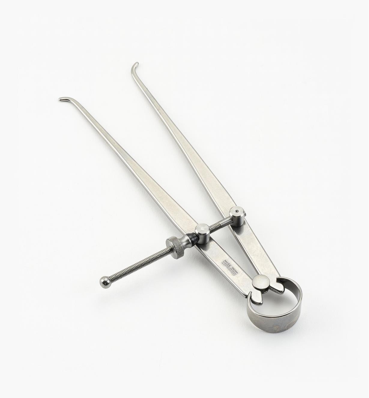 30N2502 - Compas pour mesures intérieures à écrou standard, 6 po
