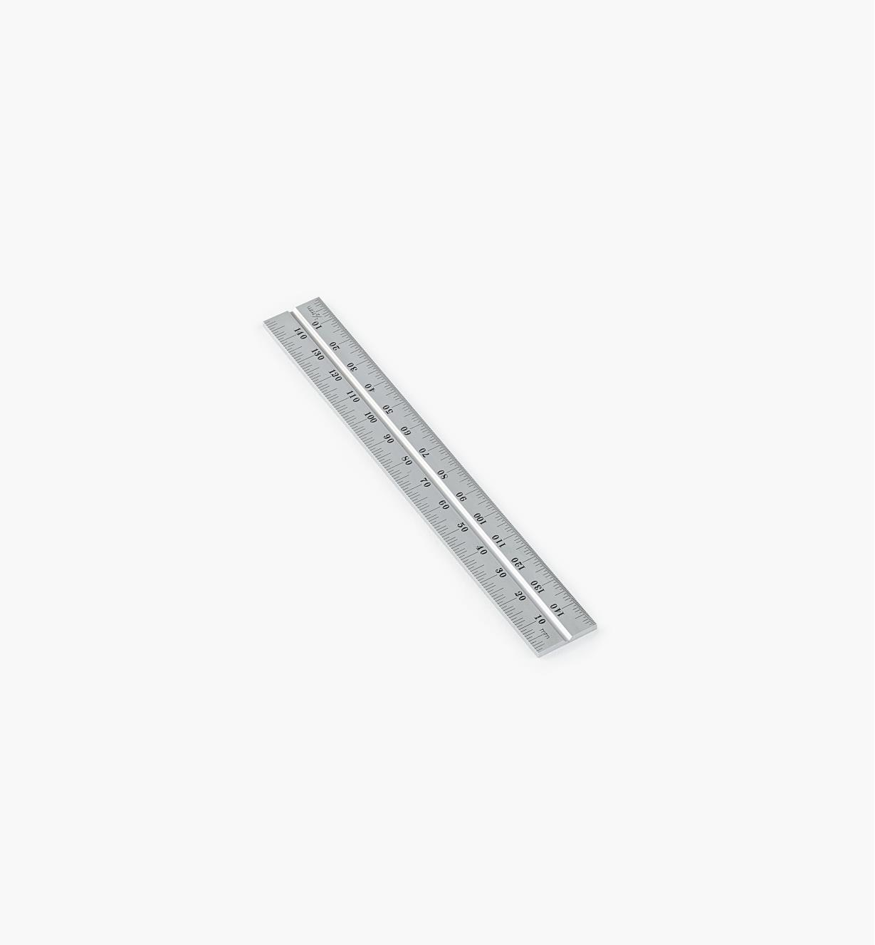 "30N3141 - Starrerg; 150mm Metric Chrome Rule for 6""/150mm Square Heads"