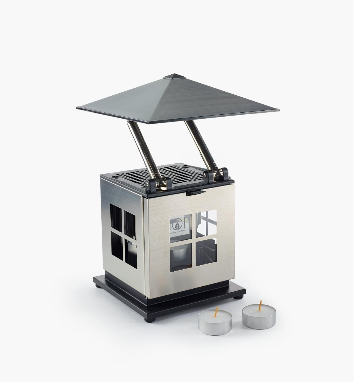 45K1853 - Lanterne à DEL alimentée par bougie