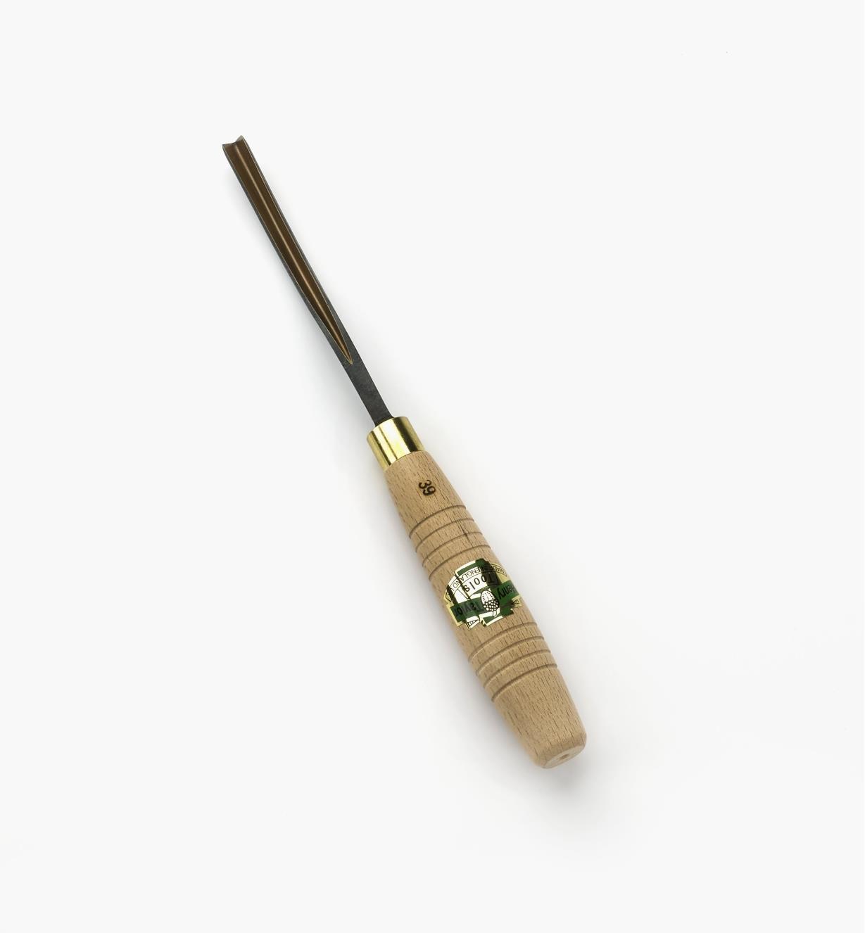 """58D4005 - 1/4"""" 60° Bent Parting Tool"""