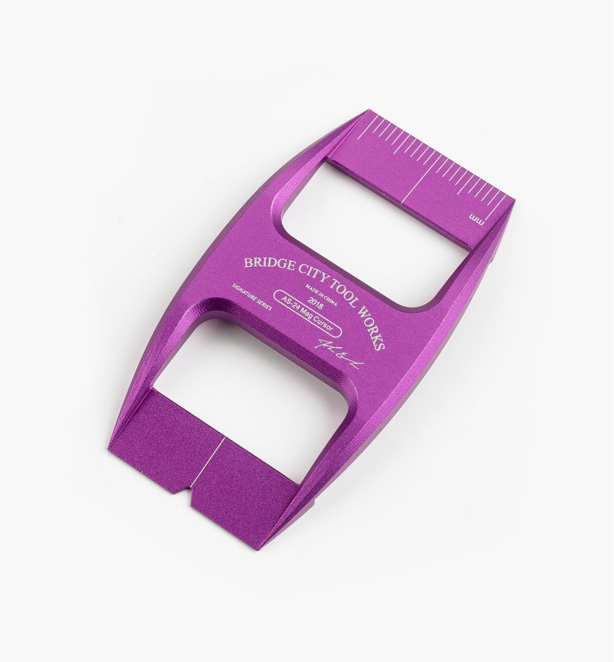 17N1686 - Bridge City Purple Metric Cursor