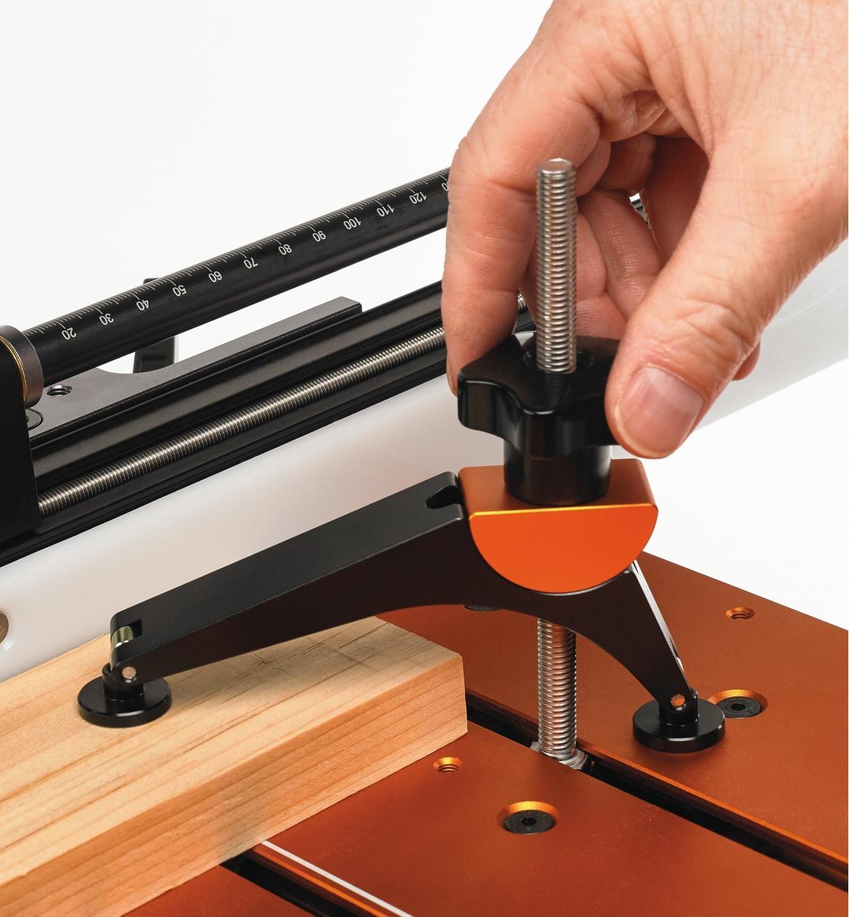 17N1714 - Serre articulée pour guide de coupe de précision Jointmaker Pro BridgeCity