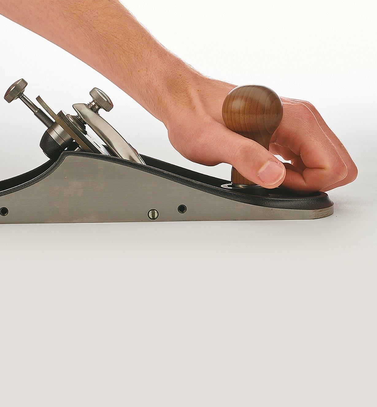 06P2013 - Grand pommeau  pour rabots d'atelier personnalisables Veritas