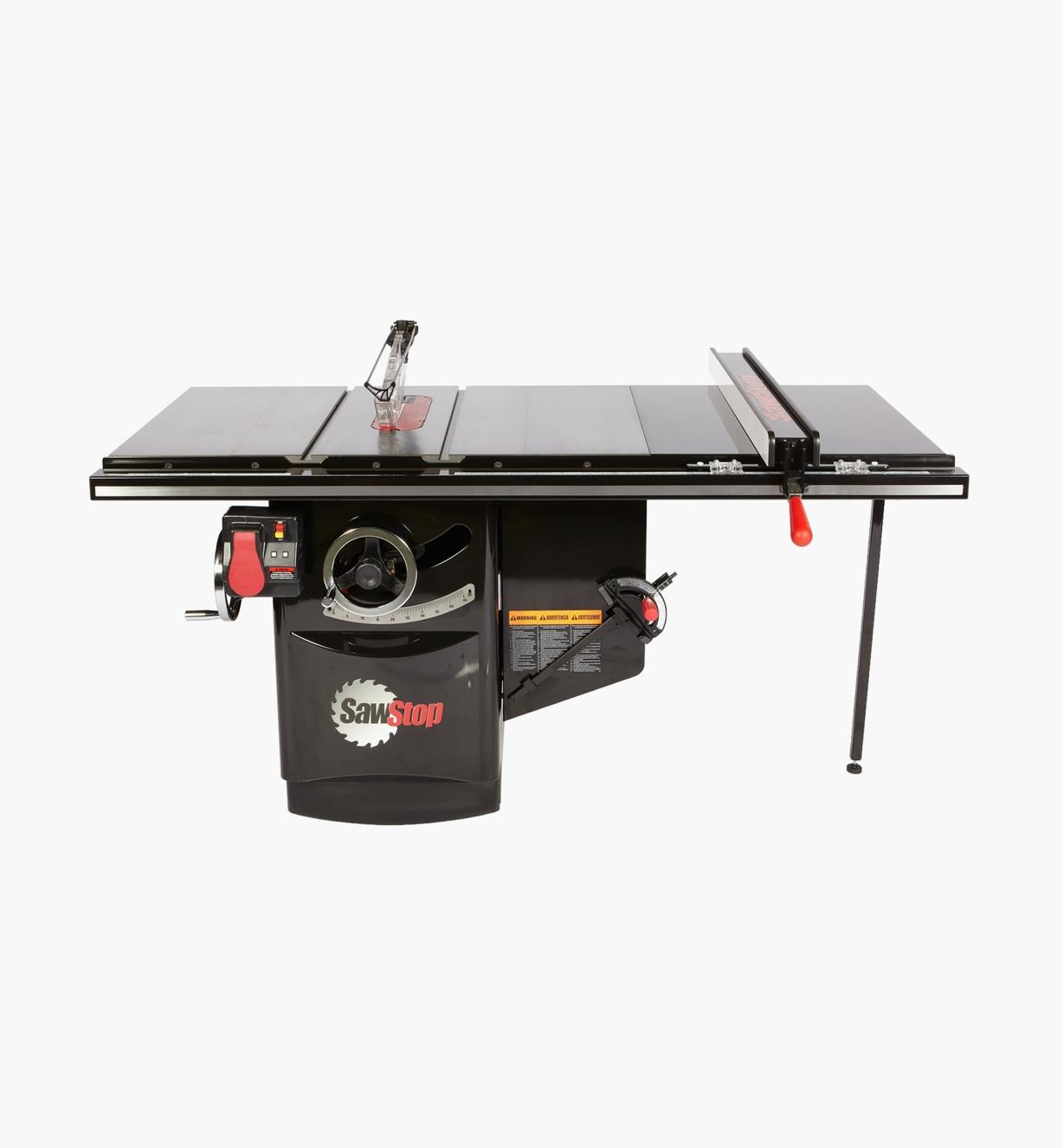 "95T2001 - SawStop 3 hp, 230V, 13A Industrial Cabinet Saw with 36"" T-Glide Fence"