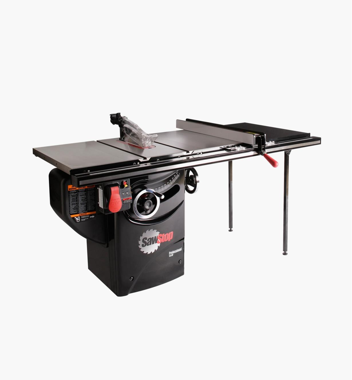 "95T2041 - SawStop 3hp Professional Cabinet Saw with T-Glide Fence, 36"" Rails"