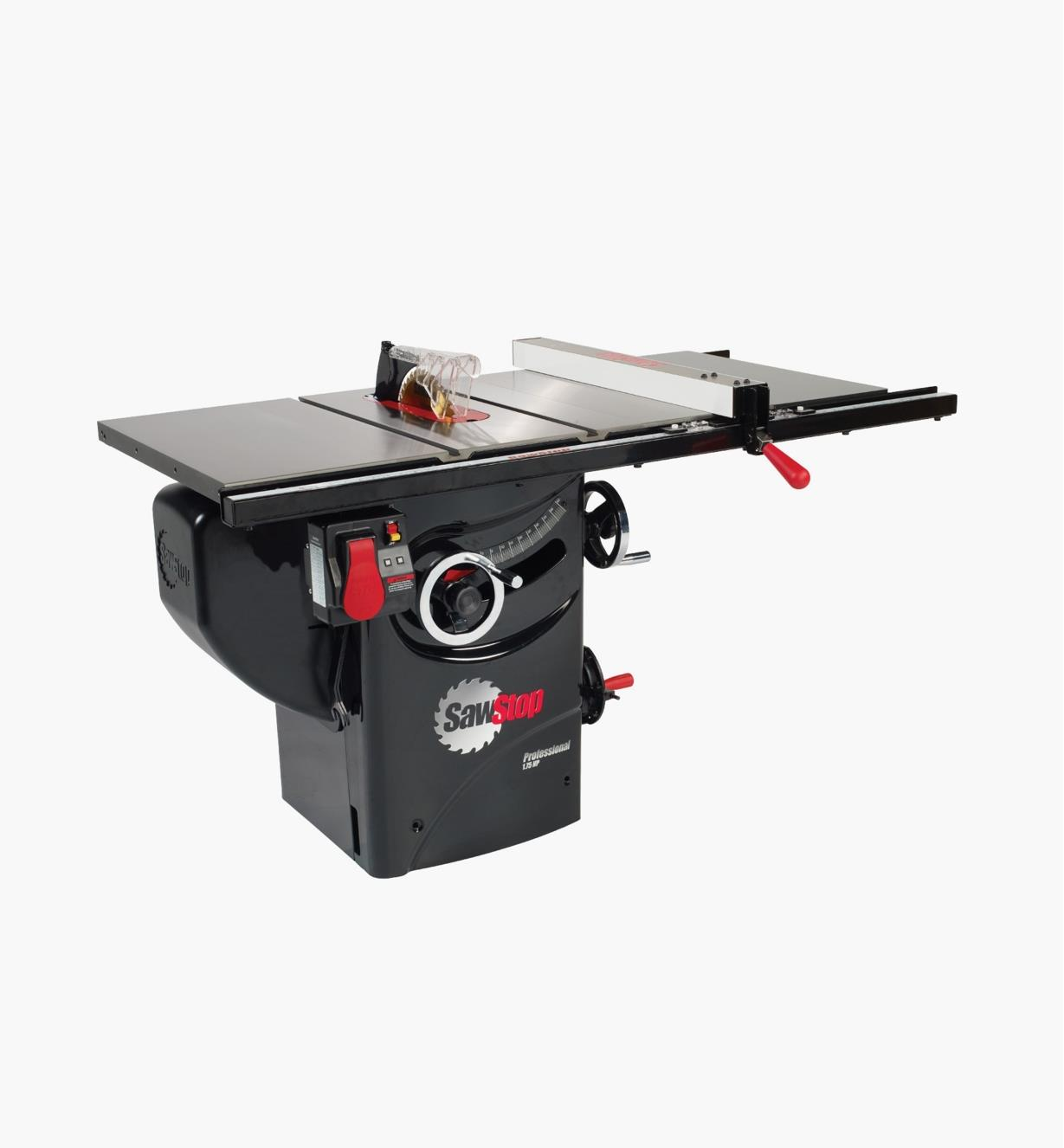 95T2060 - SawStop 1.75hp Professional Cabinet Saw with Premium Fence