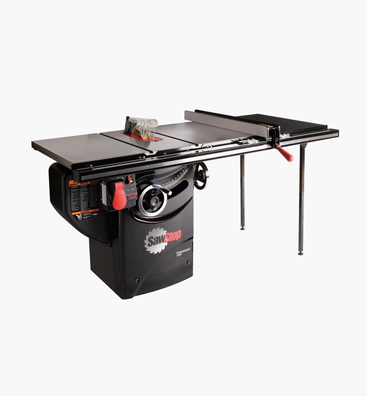 "95T2061 - SawStop 1.75hp Professional Cabinet Saw with T-Glide Fence, 36"" Rails"