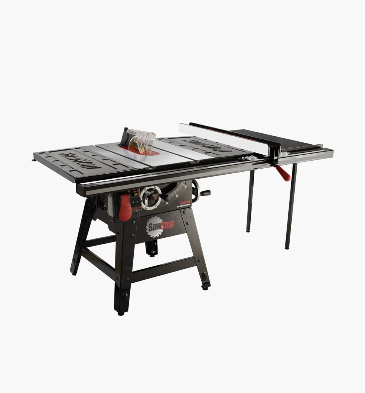 "95T2081 - SawStop Contractor Table Saw with Pro T-Glide Fence, 36"" Rails"