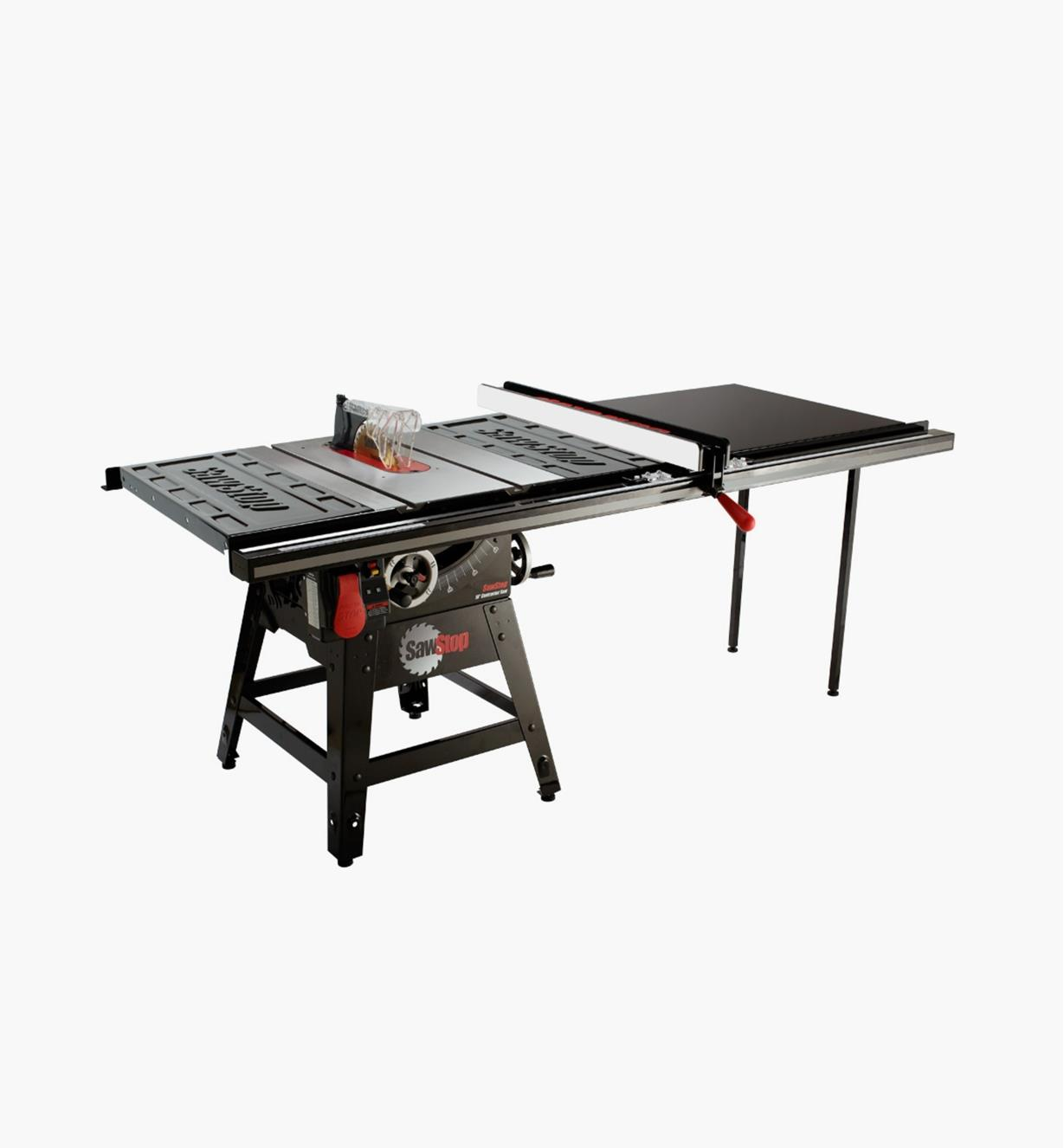 "95T2082 - SawStop Contractor Table Saw with Pro T-Glide Fence, 52"" Rails"