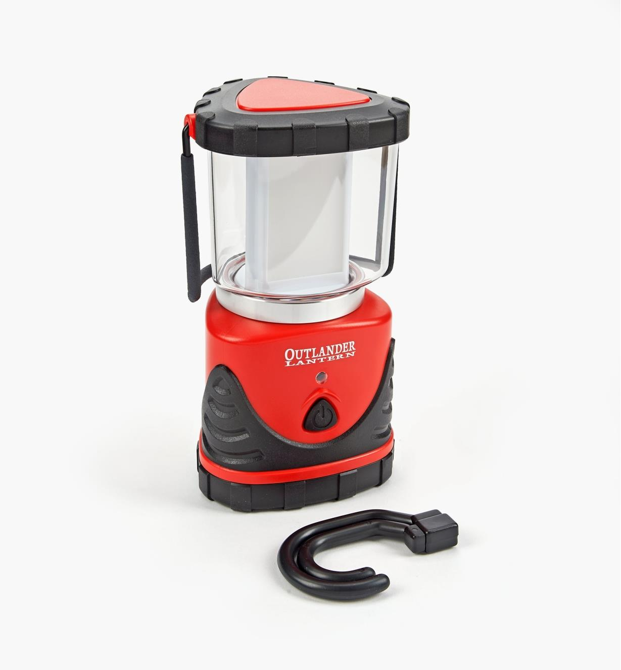 99W8889R - LED Emergency Lantern, Red