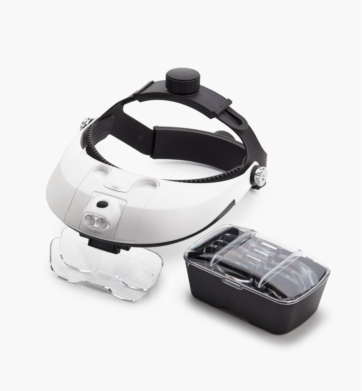 99W9732 - LED Headband Magnifier