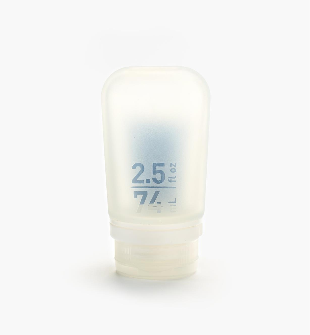 EV374 - 2.5 oz Squeeze Tube, clear