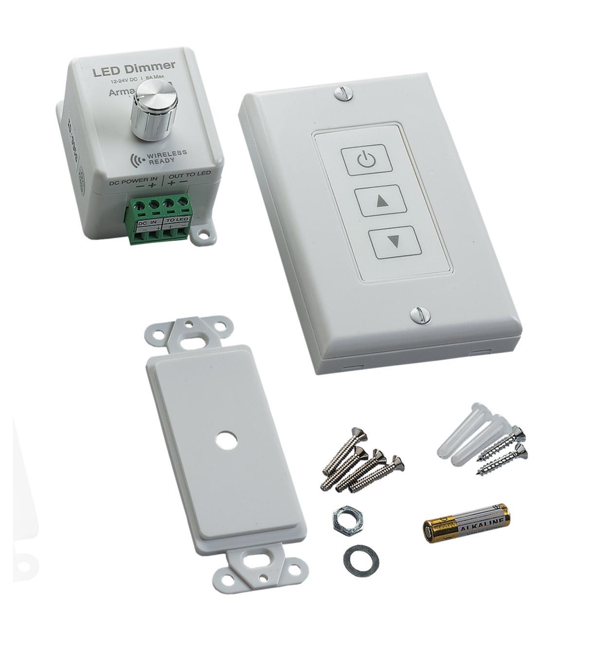 00U4210 - Dimmer w/Wireless Touchpad